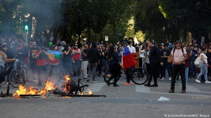 Şili'deki protestolarda can kaybı artıyor