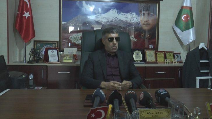 """Kayseri Şehit Aileleri Derneği Başkanı Yılmaz Üçkan:""""Türk Milleti yeri ve zamanı geldiğinde savaşmaya hazırdır"""""""