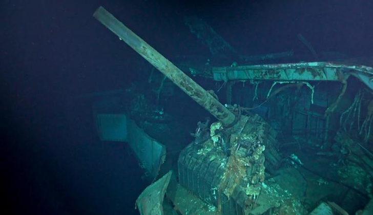 Denizin dibinde bulundu! Tam 77 yıl oldu