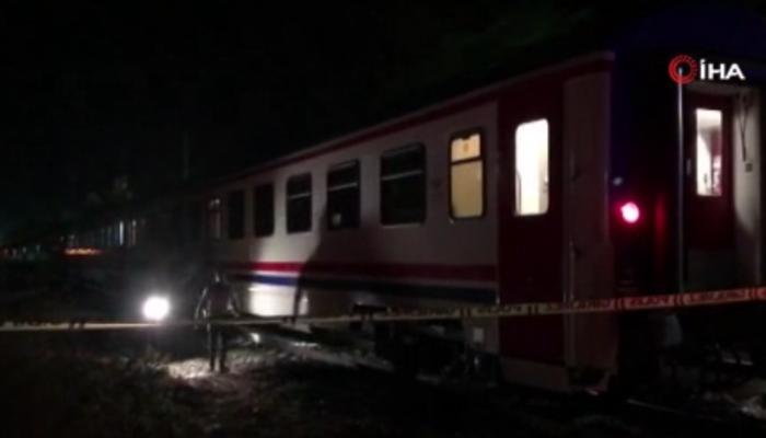 Ankara'da korkunç olay! Raylara düşen kadın trenin altında kalarak hayatını kaybetti