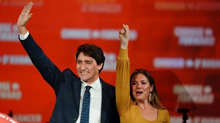 Trudeau'nun Partisi Kazandı Ama Çoğunluğu Elde Edemedi