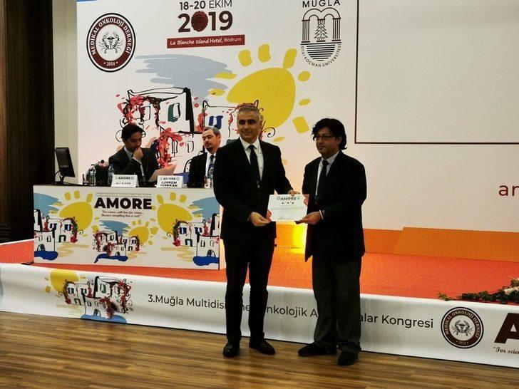 ADÜ öğretim üyesi ve öğrencisi 'En İyi İkinci Sözel Bildiri Ödülü'ne layık görüldü