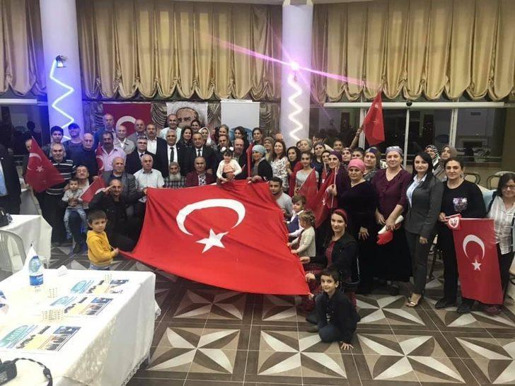 Ahıskalı Türklerden Barış Pınarı Harekatı'na destekler Devam ediyor