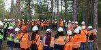 Kütahya'da genç ormancılara uygulamalı ve teorik eğitim
