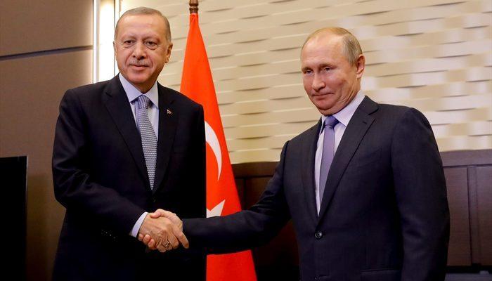 Tarihi görüşme sonrası Erdoğan ve Putin'den ortak açıklama!