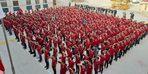 Binlerce öğrenciden asker selamı