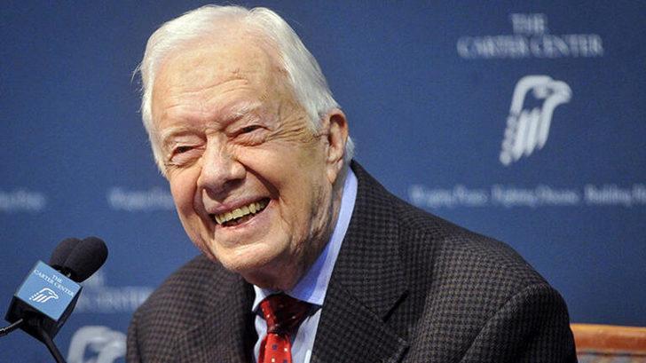 Eski ABD Başkanı Jimmy Carter hastaneye kaldırıldı!