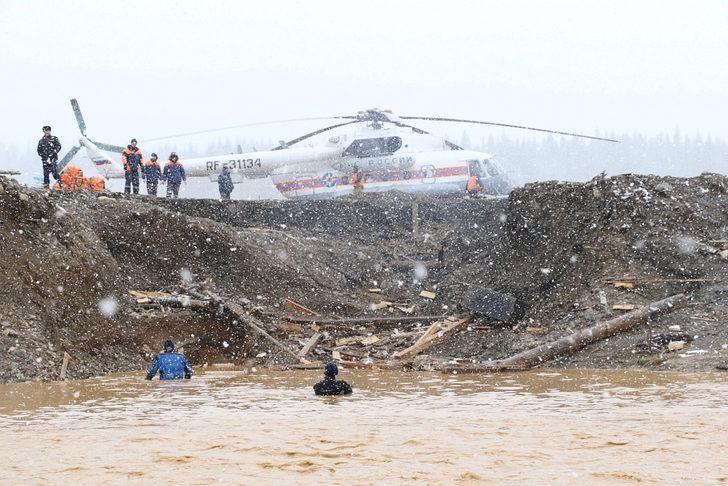 Rusya'da baraj çöktü: Ölü sayısı 17'ye yükseldi!