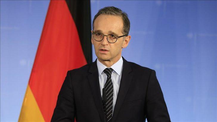 Almanya Dışişleri Bakanı Heiko Maas, Türkiye'ye geliyor