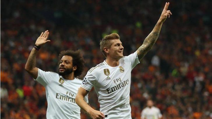 Galatasaray, Real Madrid'e 1-0 yenildi