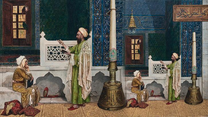 Osman Hamdi Bey'in Yeşil Cami'de Kuran Dersi tablosuna dudak uçuklatan rakam