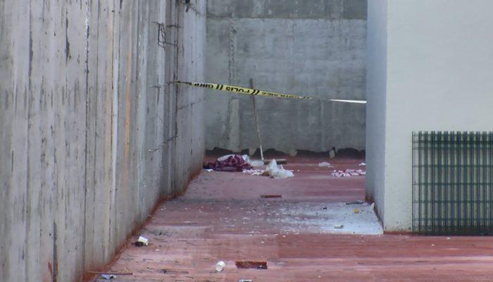 Avcılar'da kapalı semt pazarında 3 metreden düşen kadın ağır yaralandı