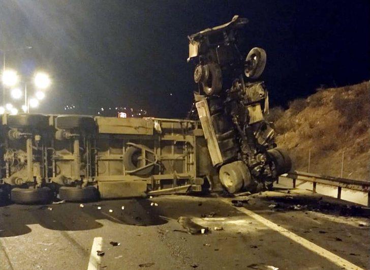Osmaniye'de korkunç kaza! TIR şoförü hayatını kaybetti