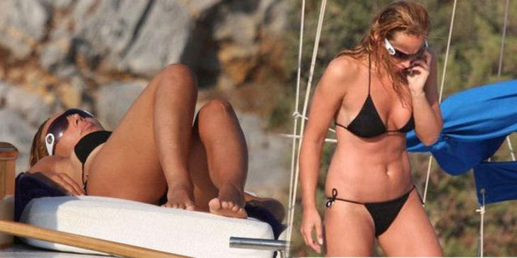 Yıllar sonra bikinili Asena
