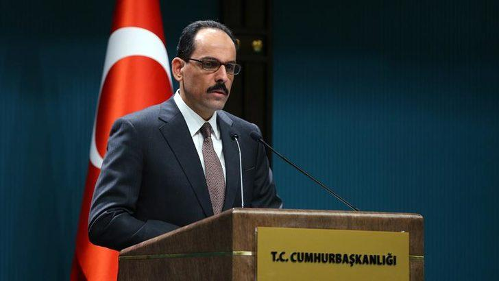 Cumhurbaşkanlığı Sözcüsü İbrahim Kalın'dan S-400 ve F-35 açıklaması