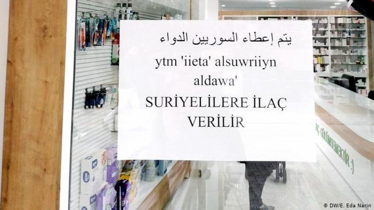 Suriyeli mülteci ilaç, eczacı ise ödeme alamıyor