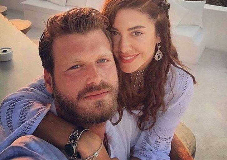 Başak Dizer'den Kıvanç Tatlıtuğ'a romantik kutlama!
