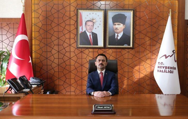 Nevşehir Valisi Aktaş, 29 Ekim Cumhuriyet Bayramı mesajı yayımladı