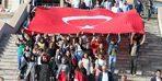 Ülkü ocaklarından 'Cumhuriyet' yürüyüşü