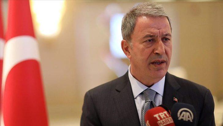 Bakan Akar'dan Türkiye ve Suriye istihbaratı arasındaki görüşmelerle ilgili açıklama