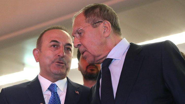 Çavuşoğlu, Rusya Dışişleri Bakanı Sergey Lavrov ile görüştü