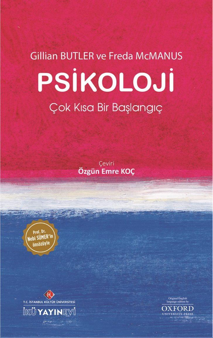 """Dünyaca ünlü psikoloji kitabı 'Çok Kısa Bir Başlangıç"""" Türkçeye çevrildi"""