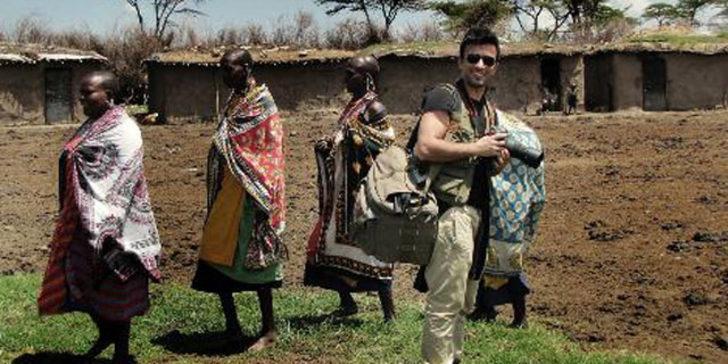 Afrika'ya gitti vejetaryen oldu