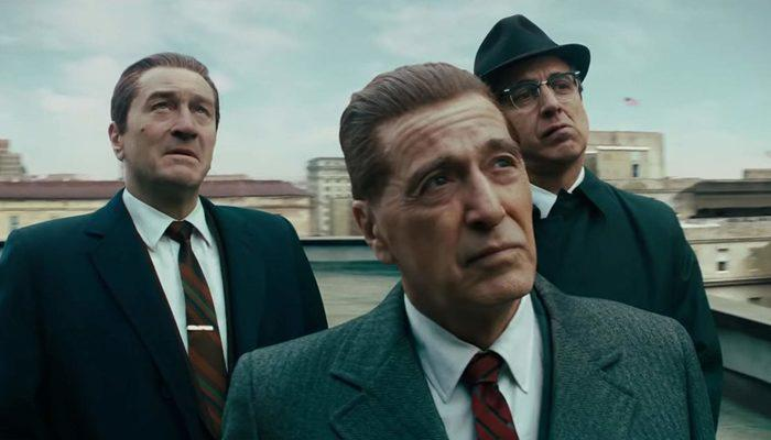 The Irishman'den Al Pacino ve Robert De Niro'lu yeni klip