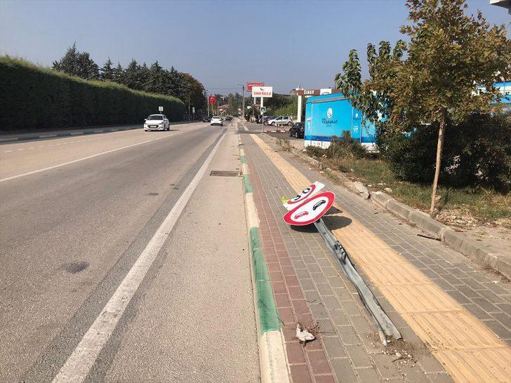 Bursaspor'dan kazada ölen genç için taziye mesajı