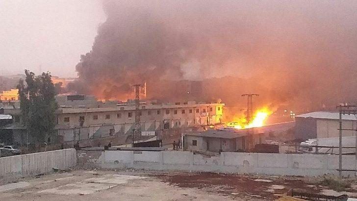 Afrin'de intihar saldırısı!