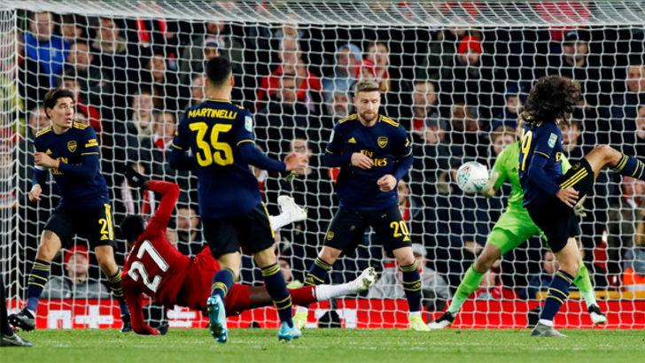 Liverpool - Arsenal maçı adeta nefes kesti