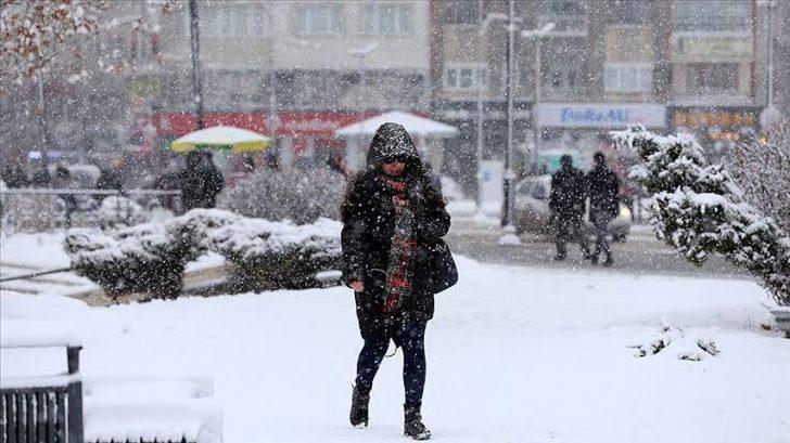 Meteoroloji'den Doğu Anadolu'da sağanak ve kar yağışı uyarısı