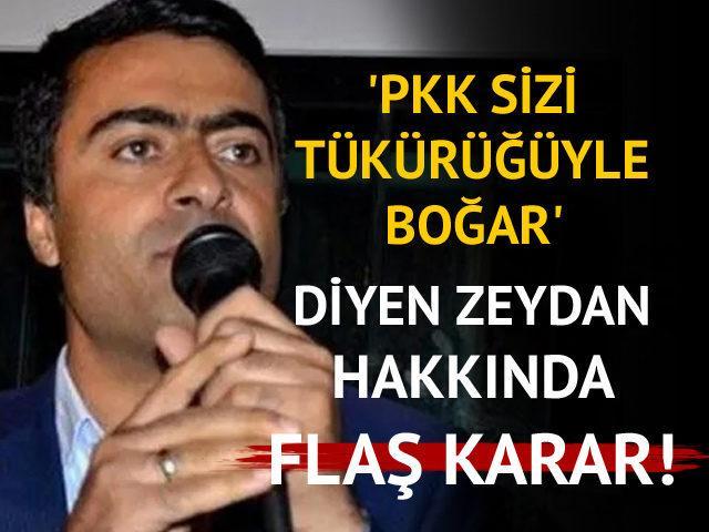 HDP'li eski milletvekili Zeydan'ın tutukluluk halinin devamına karar verildi