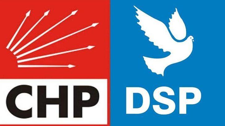 DSP'den CHP'ye 'bölücülerle ittifak' tepkisi