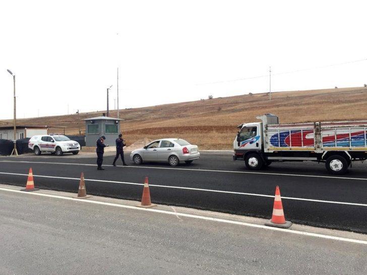 Erzincan'da jandarma ekiplerinden özel hız denetimi
