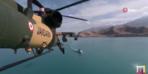ATAK helikopterin kuyruğundaki kamerayla çektiler