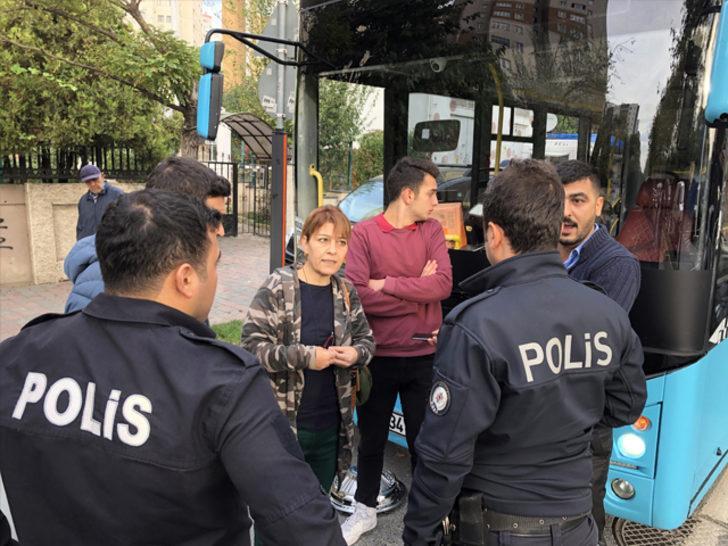 İstanbul'da şoför ile anne-oğul arasında 'para' kavgası!