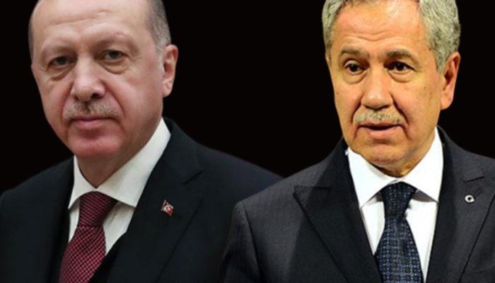 Cumhurbaşkanı Erdoğan'dan Bülent Arınç'ın 'KHK' çıkışına sert tepki