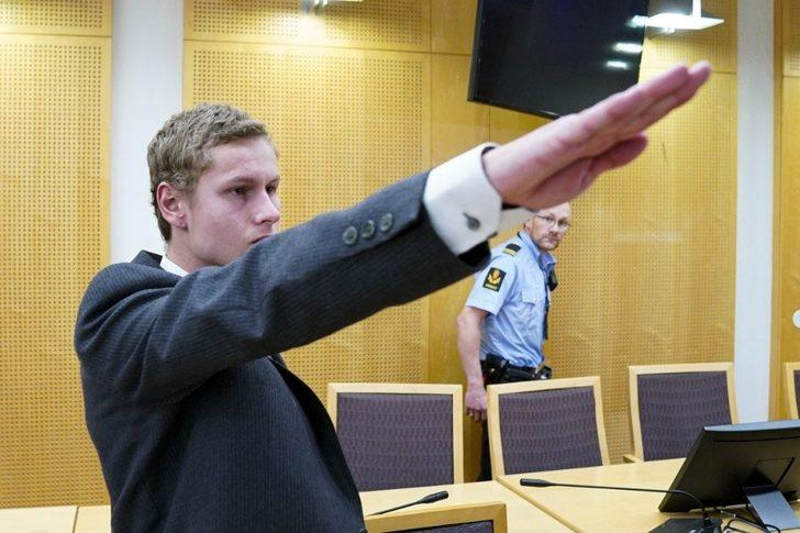 Cami saldırganı Nazi selamı verdi!