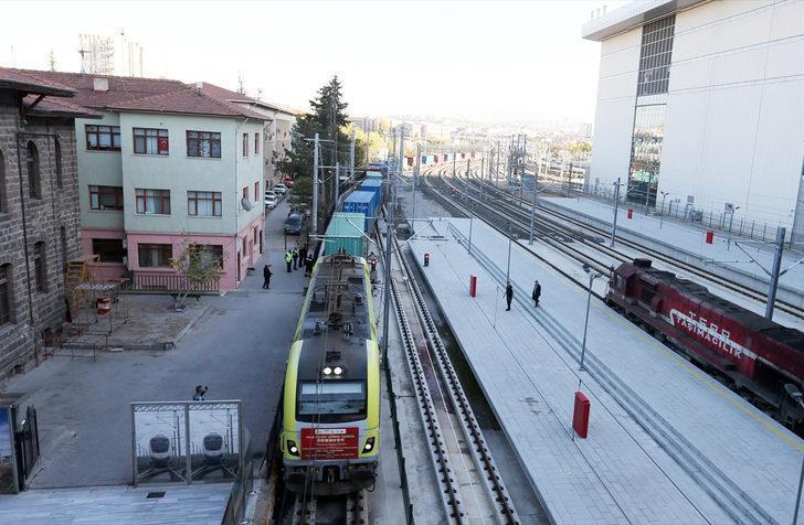 China Railway Express, Ankara Garı'ndan törenle uğurlandı