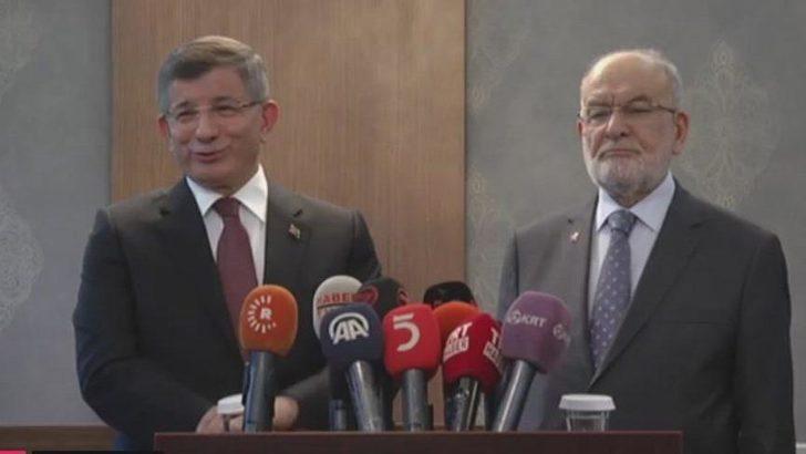 Ahmet Davutoğlu'ndan yeni parti açıklaması
