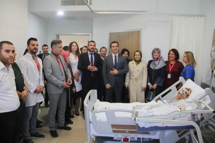 Kestel Devlet Hastanesi'nin ilk bebeği dünyaya geldi
