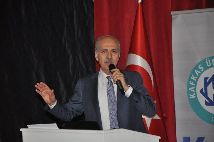 Numan Kurtulmuş: Türkiye büyük oyunu görüyor
