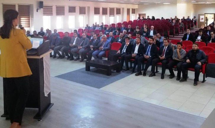 Erciş'te 'Organ Bağışı Haftası' etkinliği