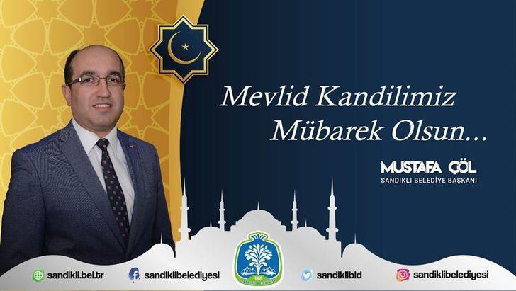 Başkan Mustafa Çöl'den Mevlid Kandili mesajı