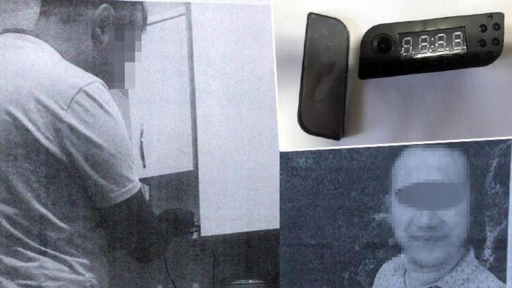 Banyoda gizli kamerayla eşi ve akrabalarını kayda aldığı iddia edilen koca kendini böyle savundu