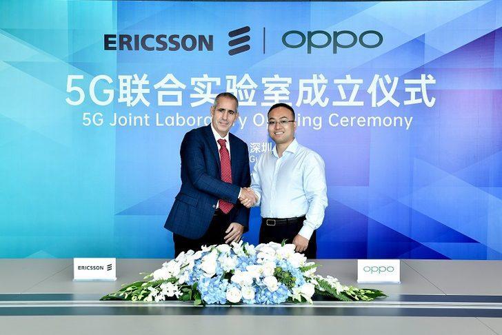 OPPO ve Ericsson ortak 5G laboratuvarı kuruyor!