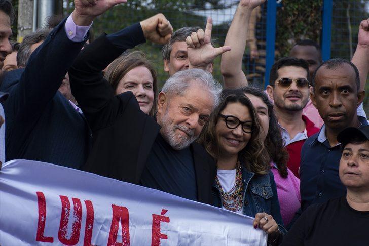 Eski Brezilya Devlet Başkanı Lula tahliye oldu