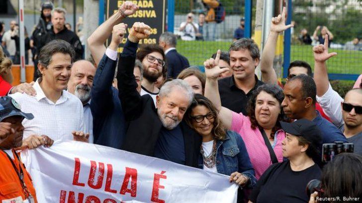 Brezilya eski devlet başkanı Lula serbest bırakıldı