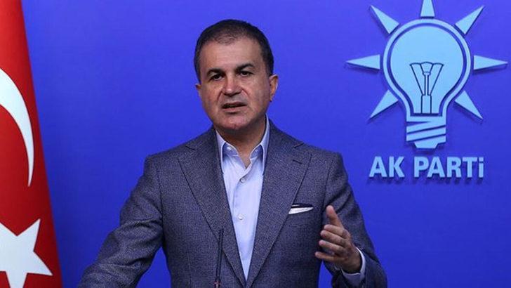 Son dakika: AK Parti Sözcüsü Ömer Çelik'ten Suriye açıklaması